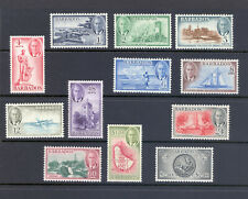 BARBADOS SG 271-85 GVI 1950 SET M/M