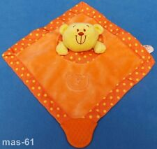 Bruin toys r us Teddy oso Orange encajable mantita sonajero toysrus