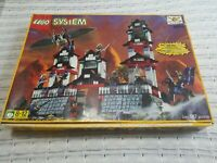 Lego System Parts & Minifigures Lot w/ 6093 Flyning Ninja Fortress Pieces ++