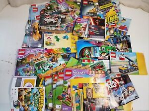 Lego Manuals Instruction Booklets Assorted Lot w/ Boeing 10177 Book 1 ++ #HE