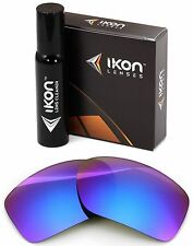Polarized IKON Iridium Replacement Lenses For Oakley Big Taco Purple Mirror