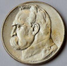 5 Zlotych 1935 - Pilsudski silver coin
