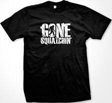 SALE Gone Squatchin' Finding Bigfoot Sasquatch TV Show Animal Planet T-shirt