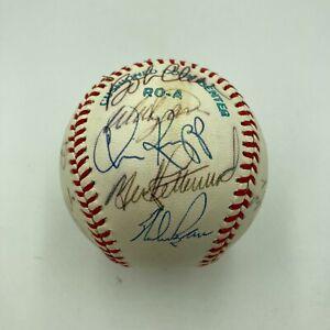 Nolan Ryan 1979 California Angels Team Signed American League Baseball PSA DNA