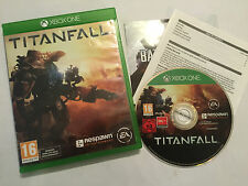 XBOX ONE FIGHT FIGHTING GAME TITANFALL +BOX INSTRUCTIONS COMPLETE DISC IS IN VGC