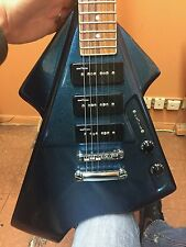 Switch Vibracell Futura V (or II) Electric Guitar Blue Firemist - RARE (DT)