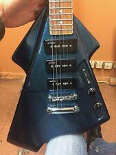 Switch Vibracell Futura V Electric Guitar Blue Firemist - RARE (T)