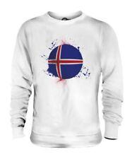 Islandia Fútbol Unisex Suéter Regalo Top Copa Del Mundo Deporte