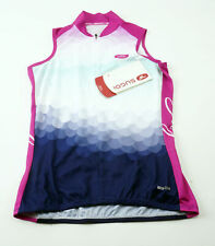Sugoi Bubble S/L Women's Sleeveless Cycling Jersey XS Raspberry Full Zip