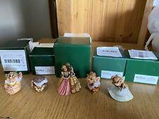 Harmony Kingdom Disney Once Upon A Time Mice Gus Jaq Suzy Lucifer Box Figurines