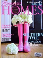 ROMANITIC HOMES SOUTHERN STYLE INSPIRATION  MAR 2015 VINTAGE SHABBY CHIC CASUAL