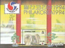 Gibraltar Blok 20 postfris 1994 Philakorea 94