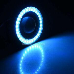 "2.5"" 3"" 3.5"" Car SUV COB LED Fog Light Projector Angel Eyes Halo Ring DRL Lamp"