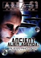 AREA 51 ARCHIVES: ANCIENT ALIEN AGENDA - ALIENS AND UFOS NEW DVD