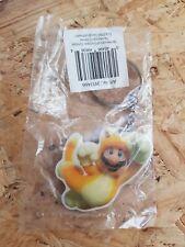 Super Mario 3D World Wii U metal keychain 2013 *sealed