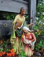 Nativity Set Holy Family 15 inch Resin Indoor Outdoor Garden Statue Yard Decor