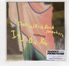 (GM702) Happyness, Montreal Rock Band Somewhere - 2015 DJ CD