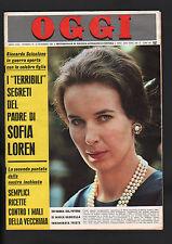 OGGI 50/1966 RATNA SARA DEWI MISS WORLD REITA FARIA MARINO MARINI SHOW'N TELL