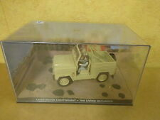 BOXED MODEL CAR JAMES BOND 007 THE LIVING DAYLIGHTS / LAND ROVER LIGHTWEIGHT