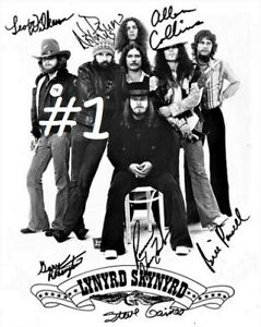"Lynyrd Skynyrd 8x10 Signed Autograph Reprint [Choose 1 of 2 Photos} ""Mint"""