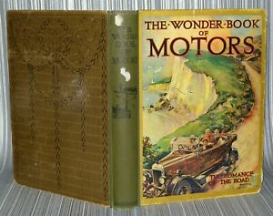 The Wonderbook Of Motors -Hardback. Harry Golding -2nd Edition, Ward Lock