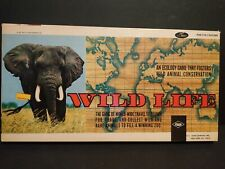Wild Life Lowes Vintage 1960/70s Board Game VGC WWF Rare