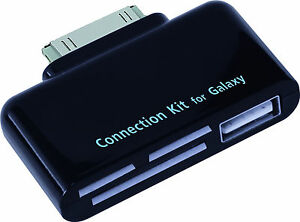 4-in-1 Camera Connection Kit for Samsung Galaxy Tab(7.0Plus/7.7/8.9)