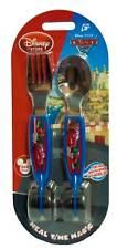 Disney Store Cars 2 Lightning McQueen Fork & Spoon Set
