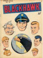 BLACKHAWK COMICS GOLDEN AGE COLLECTION PDF ON DVD