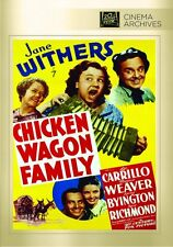 chicken-wagon FAMILIA dvd (1939) - JANE WITHERS, Leo Carrillo,Marjorie WEAVER
