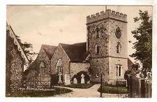 The Church Owslebury Photo Postcard c1953 / Winchester