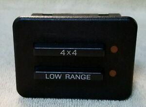 Ford Explorer 4x4 Dash Switch 4wd Control Button 1990 1991 1992 1993 1994 Ranger