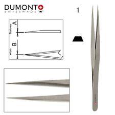 Pinzette Form:1.Kornzange von Dumont aus antimagnetischem Stahl.Made in Swiss