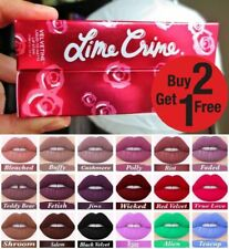 Lime Crime LONG STAY LIQUID MATTE LIPSTICK - in box Please Choose from 39 Shades