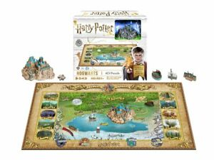 NEW IN BOX 4D Cityscape Puzzle HARRY POTTER HOGWARTS 543+ pieces