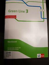 NEUw Green Line 3 Workbook MIT LÖSUNGEN Lehrerfassung + Übungssoftware CD Lehrer