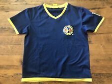 7facfc28c66 CA Club America Youth Small Soccer Jersey Blue Athletic Shirt FMF Oficial