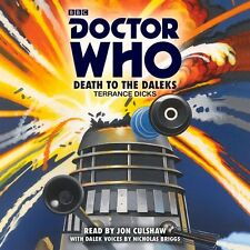 Doctor Who: Death to the Daleks: A 3rd Doctor Novelisation New Audio CD Book Ter