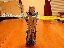Antique German Bisque Porcelain Figurine Boy Carrying Cat