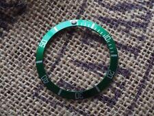INSERTO lunetta orologio Rolex Submariner per Verde Argento casi 16610 16800