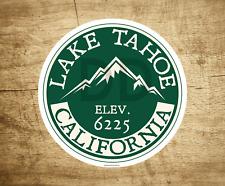 "Lake Tahoe California Decal Sticker 3"" Skiing Lakes Boating"