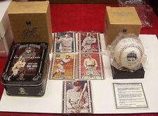 1995 Metallic Babe Ruth 5 metal cards Tin Box - AVON Commemorative Ball Lot#