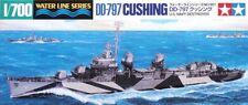 Tamiya 31907 1/700 Model Kit U.S Navy USS Fletcher-Class Destroyer DD797 Cushing