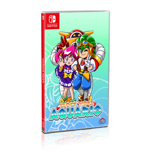 Clockwork Aquario Nintendo Switch Strictly Limited Games SLG Limited Run Sealed