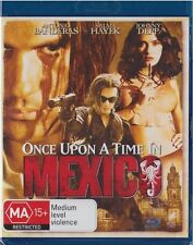 Once Upon a Time in Mexico Blu-ray *NEW/SEALED* (REG B AUS) Depp Banderas Hayek