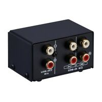2 in 1 Out or 1 in 2 Out Audio Source Signal Selector,Switcher,Speaker,Audi C2X2