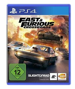 Fast & Furious Crossroads (PS4-Spiel) Neu & OVP