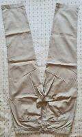 Calvin Klein Chinos Trousers Liquid cotton twill Waist 34 Leg 31 Four pockets