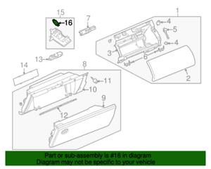( 1 ) GENUINE LAND ROVER LR003822 BULB-Glove Compartment  2002-2012 Range Rover