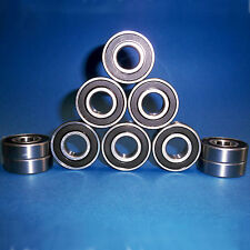10 Kugellager 6302 2RS / 15 x 42 x 13 mm
